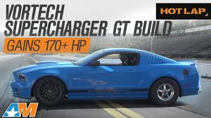 4 6 mustang supercharger vortech supercharged mustang gt gains 170 hp 2014 gt