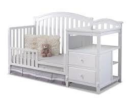 White Crib And Changing Table Sorelle Berkley 4 In 1 Convertible Crib And Changer White