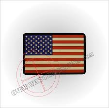 State Flag Velcro Patches American Flag Pvc Patch Overwatch Designs
