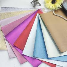choose color new style 10 pcs high qulity diy pu leather synthetic leather