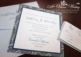 blue and silver wedding invitation u2013 a vibrant wedding