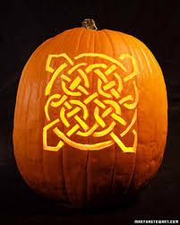 celtic knot pumpkins u0026 video martha stewart