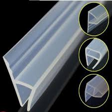 transparency shower door waterproof silicone seal strip from