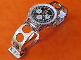 air bracelet original air racer breitling polished solid bracelet link ssteel