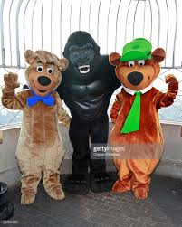 yogi bear and boo boo visit the empire state building december