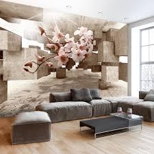 tapeten wohnzimmer braun wohnzimmer dekor weifl ww200903026