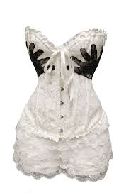 White Corset Halloween Costumes 25 Burlesque Costumes Ideas Burlesque