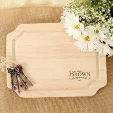 wedding cutting board bigwood boards the original monogrammed cutting boards