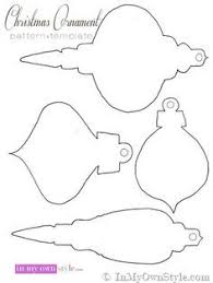 get free bulb and ornament patterns for scrapbooking