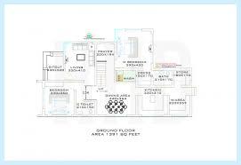 Kerala Single Floor House Plans Four Bedroom House Plans Kerala Style Memsaheb Net