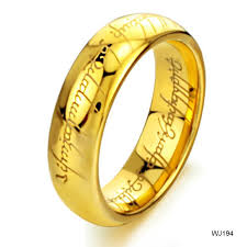 steel male rings images The lord of the ring gold tungsten steel men 39 s band ring us size 8 jpg