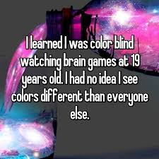 People Who Are Color Blind 23 Confessions From People Who Are Colorblind