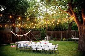 backyard lighting ideas for a party christmas lights decoration