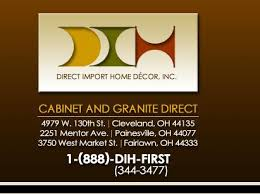 dih cabinet granite direct logo from direct import home decor inc