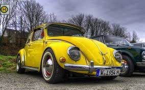 volkswagen beetle classic wallpaper photo volkswagen beetle vintage hdr retro yellow 3840x2400