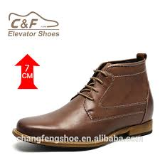men custom logo shoes men brown leather ankle boots buy custom