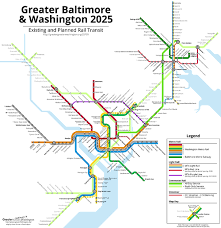 baltimore routes map your transit map could look like this if maryland builds the