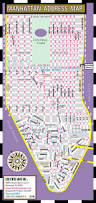 Map Of Usa With Compass Streetwise Manhattan Address Map Laminated Address Locator Map
