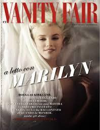 Magazine Vanity Fair Arts Cross Stitch Marilyn Monroe Vanity Fair Magazine Italy