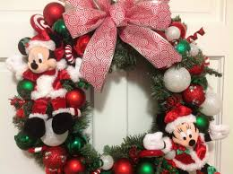 disney wreath with mickey mouse and minnie by pixiedustyourplace