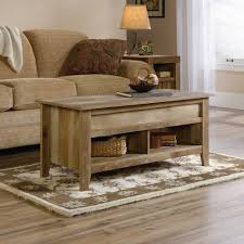 sauder dakota pass lift top coffee table craftsman oak finish