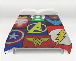 Superhero Bedding Twin Queen Superhero Bedding Emblem Duvet Cover U2013 Superhero Sheets