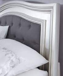 coralayne silver bedroom set bedroom sets bedroom