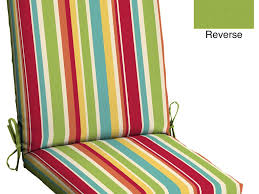 Outdoor Patio Furniture Sets Clearance by Patio 65 Multi Stripe Patio Chair Pads Patio Furniture