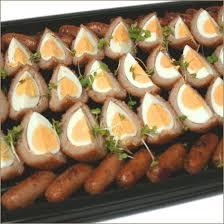 egg platter scotch egg sausage platterbuffets