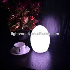Portable Luminaire Desk Lamps Indoor Modern Battery Operated Funky Table Lamps Rainbow Color