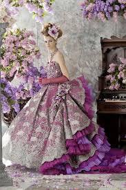 stella de libero color wedding dresses purple wedding color