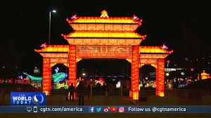lights festival chicago time dragon lights lantern festival draws crowds in chicago youtube