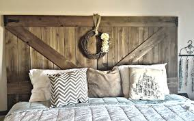 diy fence headboard features bamboo and wood idea dark come with