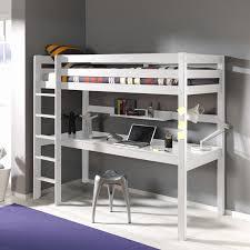 lit mezzanine avec bureau intégré lit enfant mezzanine avec bureau unique lit mezzanine en pin massif