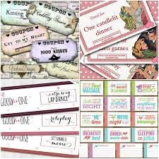printable romantic gift certificates romantic and naughty printable love coupons for him glitter n spice