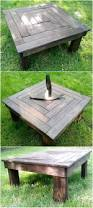 Black Pallet Patio Furniture Best 25 Outdoor Coffee Tables Ideas On Pinterest Industrial