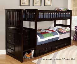 Staircase Bunk Beds Twin Over Full by Bunk Beds Stairs For Loft Access Jordan Twin Over Full Bunk Bed