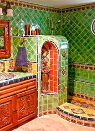 mexican tile bathroom designs mexican tile bathroom decorating with talavera tiles