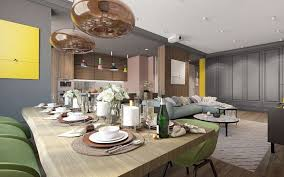 home themes interior design a pair of modern homes with distinctively bright color themes