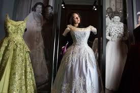 inside queens clothes wardrobe fashion exhibition at holyroodhouse
