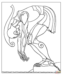 the bronze man talos coloring page free printable coloring pages