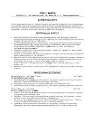 professional marketing resume marketing resume objectives exles exles of resumes