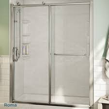 Large Shower Doors Tub And Shower Doors Bath Fitter