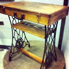 sewing machine table ideas round coffee table kmart antique singer table top sewing machine