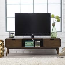 home theater entertainment center belham living carter mid century modern tv stand hayneedle