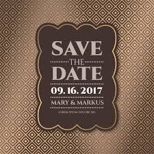 Save The Date Cards Free Luxury Save The Date Card Vector Free Download