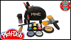 mac makeup halloween play doh mac makeup inspired by play doh craft n toys youtube