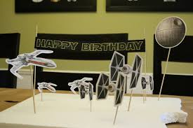 tutorial star wars happy birthday cake toppers hometown betty