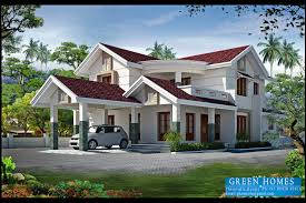 Green Home Plans 4bhk Kerla Home Design Architects In Kerala Architects In