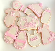 baby shower cookies baby shower for girl cookies baby shower diy